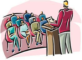Lecturer clipart graphic freeuse stock audience-clipart-lecturer-3 | Debi Graham-Leard graphic freeuse stock