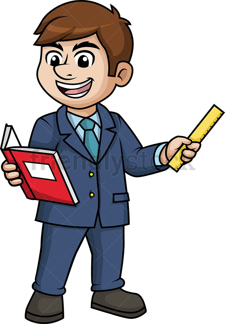 Lecturer clipart graphic freeuse stock Man Teaching | Digital painting in 2019 | Free vector clipart, Clip ... graphic freeuse stock