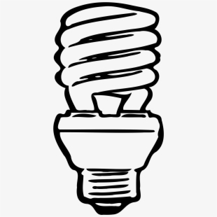 Led light bulb clipart black and white clipart free stock Light Bulb Clipart - Led Light Clipart , Transparent Cartoon, Free ... clipart free stock