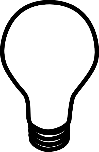 Led light bulb clipart black and white image free download Lightbulb led light bulb clipart clipartfest 2 - Cliparting.com image free download