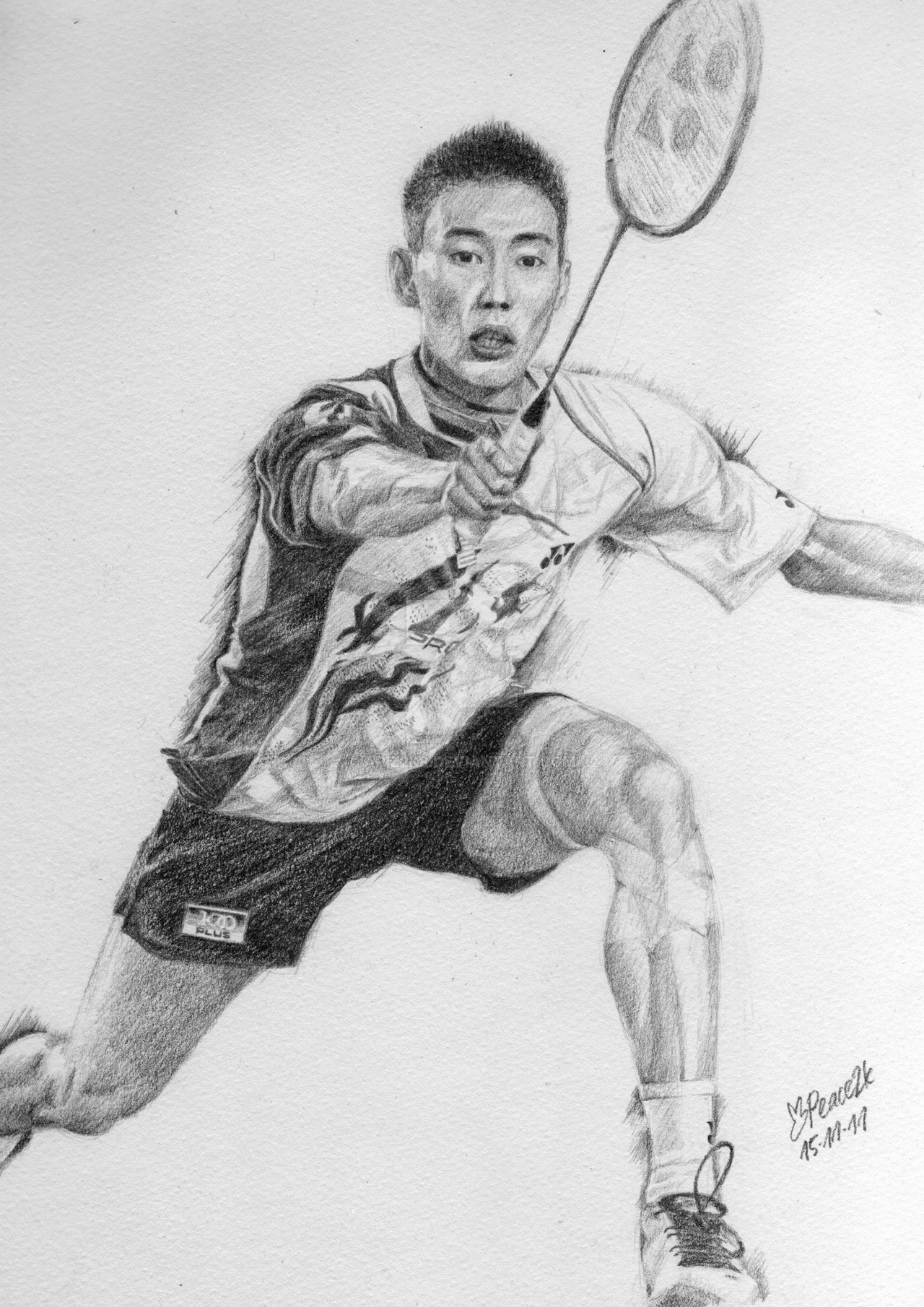 Lee chong wei clipart graphic royalty free library Lee Chong Wei by apiz2k8 on DeviantArt graphic royalty free library