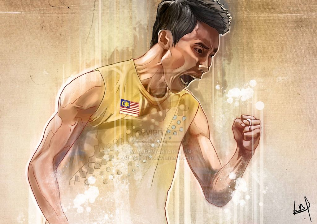 Lee chong wei clipart clip art free stock Lee Chong Wei by Yojin10.deviantart.com on @DeviantArt | Lee ... clip art free stock