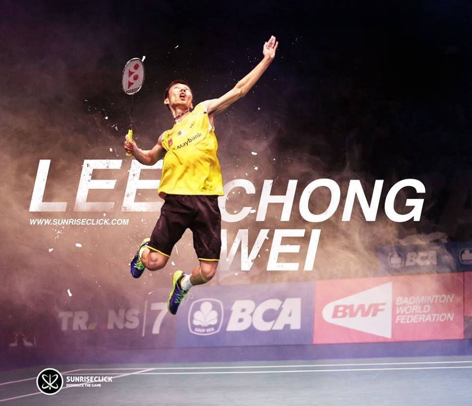 Lee chong wei clipart banner black and white library Dato\' Lee Chong Wei is a Malaysian Chinese professional badminton ... banner black and white library