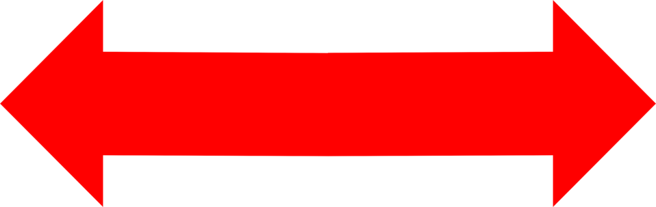 Left and right arrow clipart banner transparent stock Arrows Red | Free Stock Photo | Illustration of a red left and ... banner transparent stock
