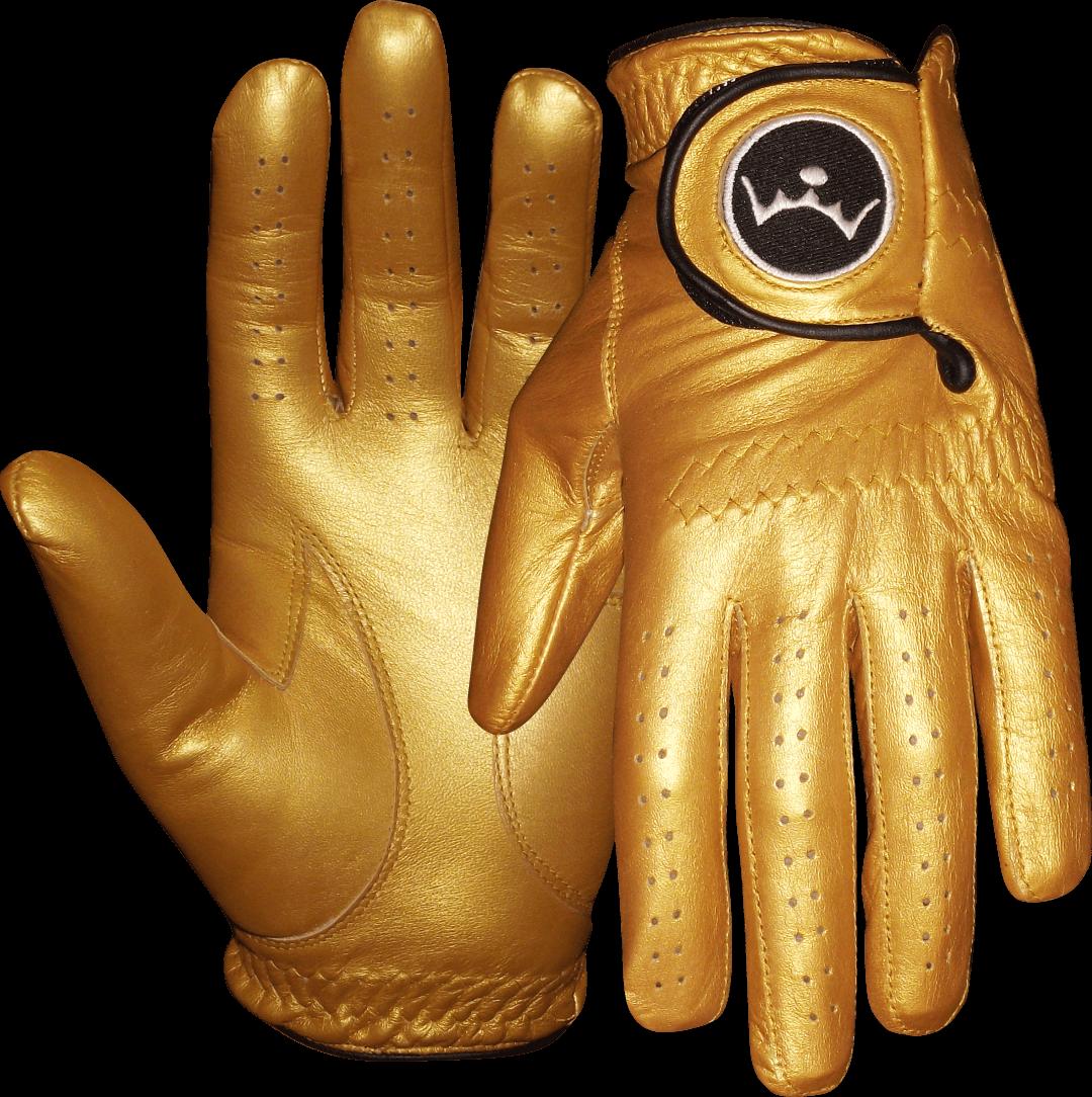 Left baseball mitt clipart svg stock Queen of Golf Ladies Gold Golf Glove| Gold Golf Glove svg stock