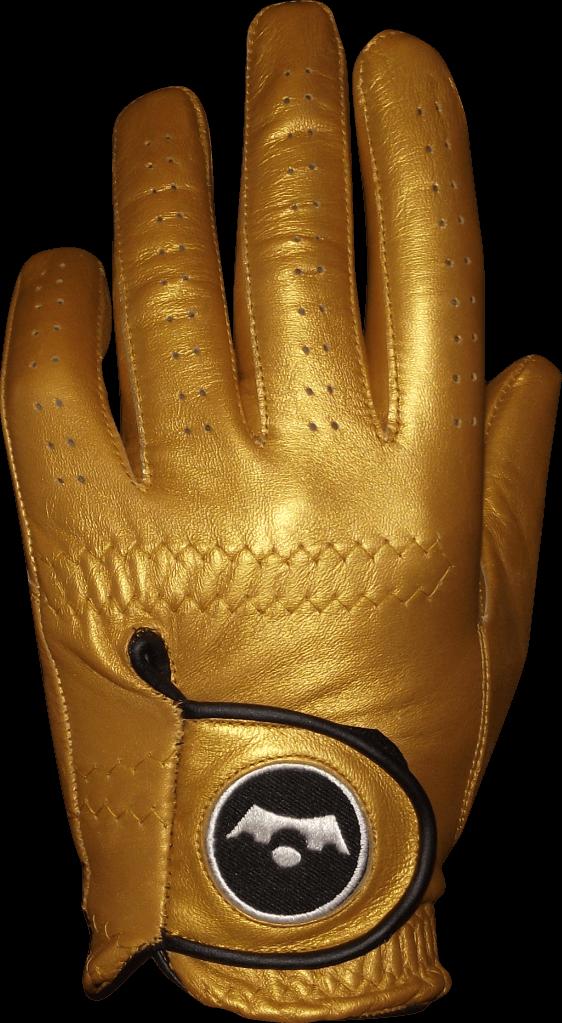 Left baseball mitt clipart vector royalty free stock King of Golf | Gold Golf Glove vector royalty free stock