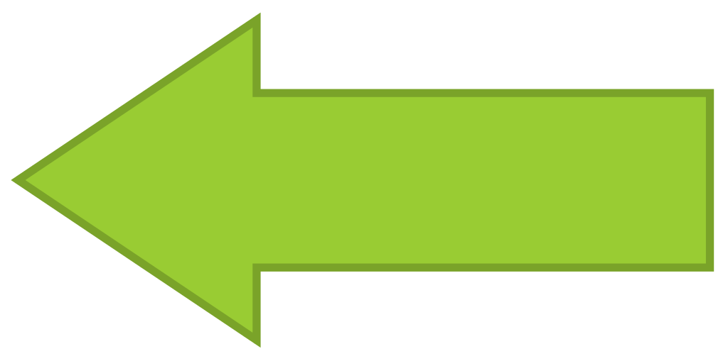 Left facing arrow svg black and white library File:Arrow facing left - Green.svg - Wikimedia Commons svg black and white library