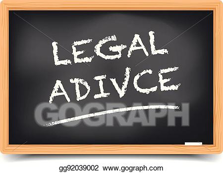 Legal advice clipart png royalty free Vector Art - Blackboard legal advice. EPS clipart gg92039002 - GoGraph png royalty free