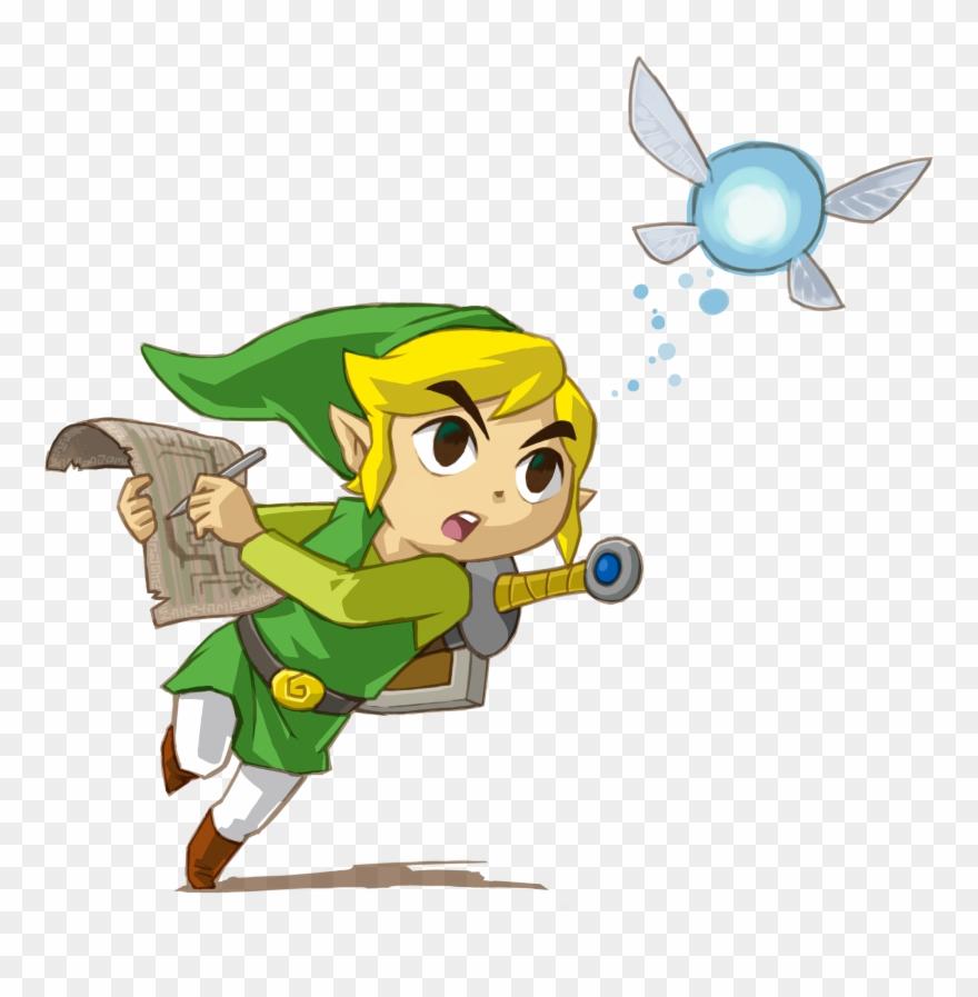 Legend clipart jpg transparent library Link - Legend Of Zelda Phantom Hourglass Link Clipart (#927614 ... jpg transparent library