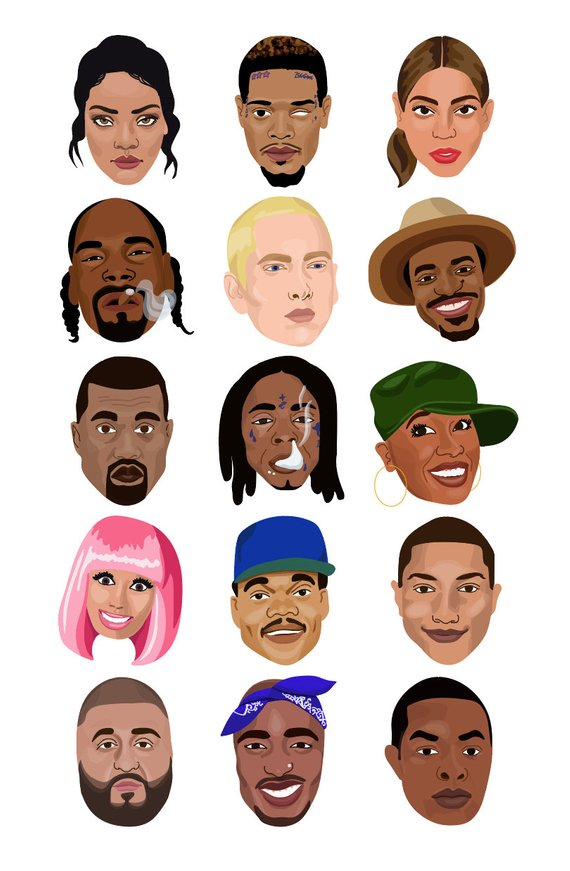 Legend fm clipart jpg royalty free HIP HOP LEGENDS - Rappers, singers, musicians, and producers of ... jpg royalty free