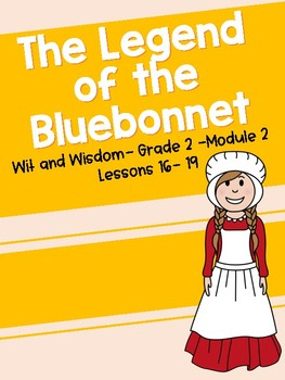 Legend of bluebonnet she who is alone clipart vector free library Legends Of The Bluebonnet Worksheets & Teaching Resources | TpT vector free library