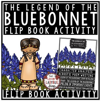 Legend of bluebonnet she who is alone clipart svg library stock The Legend Of The Bluebonnet Activities & Worksheets | TpT svg library stock