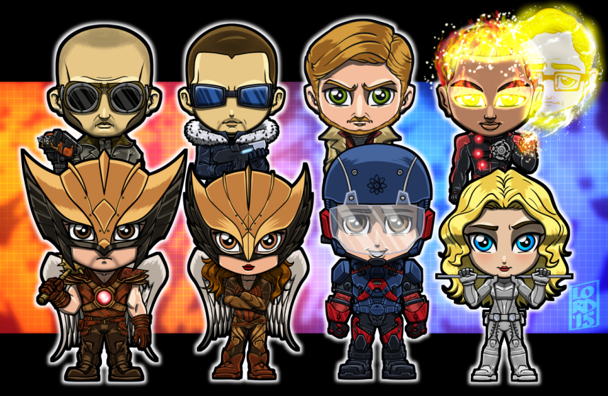 Legends of tomorrow clipart royalty free stock Legends of Tomorrow - Lord Mesa Art royalty free stock