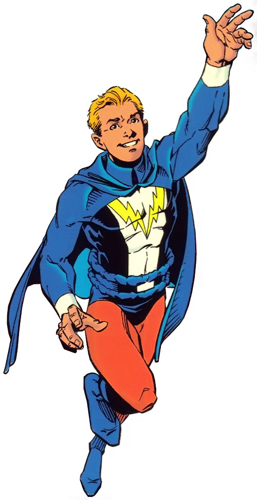 Legion of super heroes clipart picture Lightning Lad - DC Comics - Legion of Super-Heroes - Character ... picture