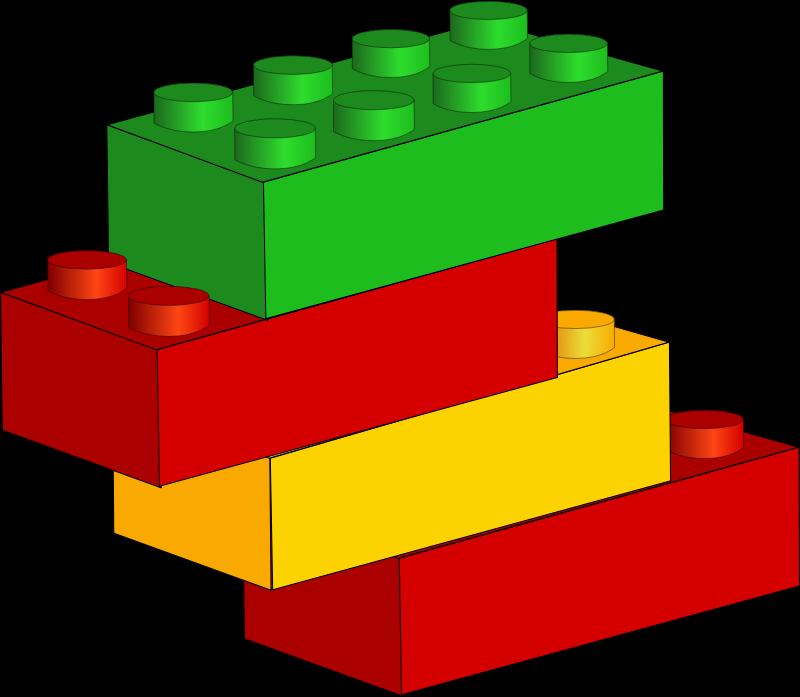 Lego building blocks clipart jpg royalty free Clipart - Bricks jpg royalty free