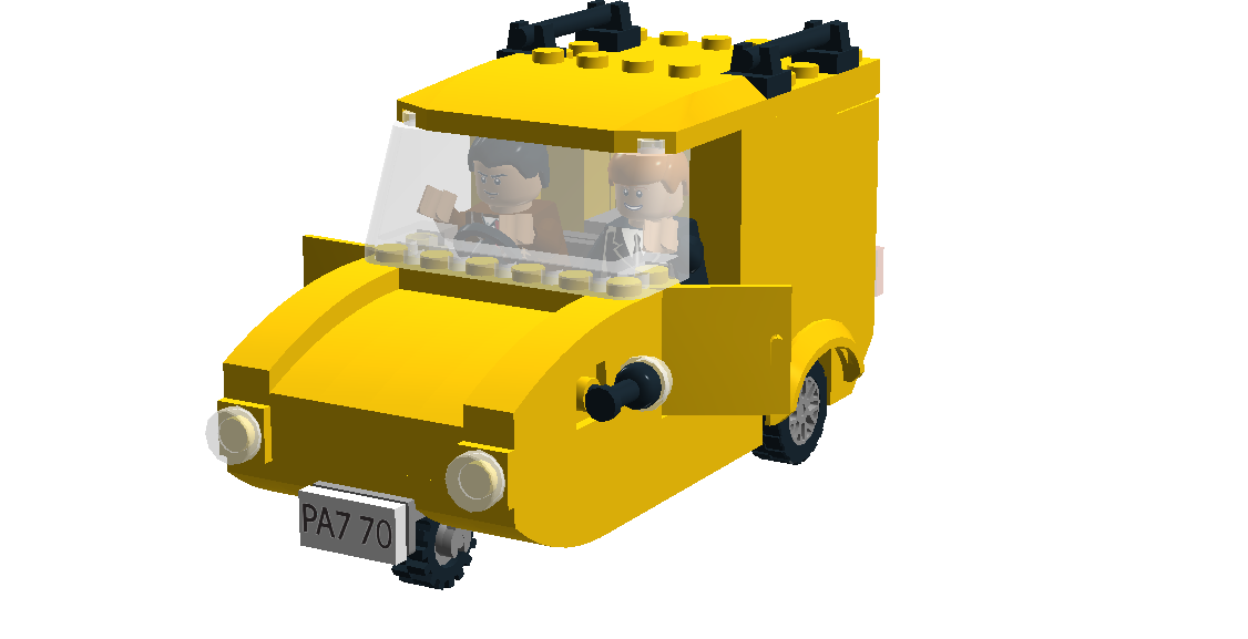 Lego car clipart clip freeuse library LEGO Ideas - Product Ideas - Only Fools and Horses - Robin Reliant clip freeuse library