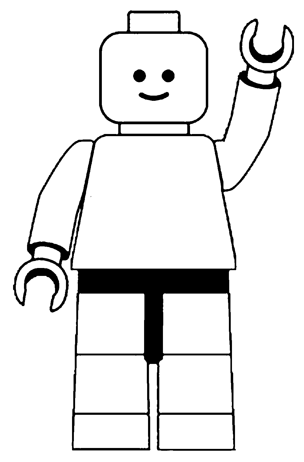 Lego character clipart black and white jpg download Lego character clipart black and white - ClipartFest jpg download