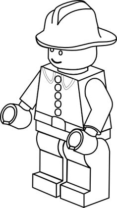 Lego character clipart black and white graphic royalty free Black and white lego clip art - ClipartFest graphic royalty free