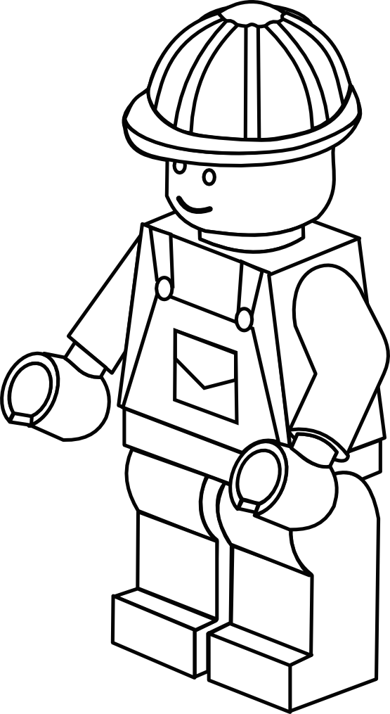 Lego character clipart black and white image transparent download Lego character clipart black and white - ClipartFest image transparent download