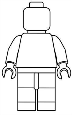 Lego character clipart black and white vector free Minifigures Clipart | Free Download Clip Art | Free Clip Art | on ... vector free