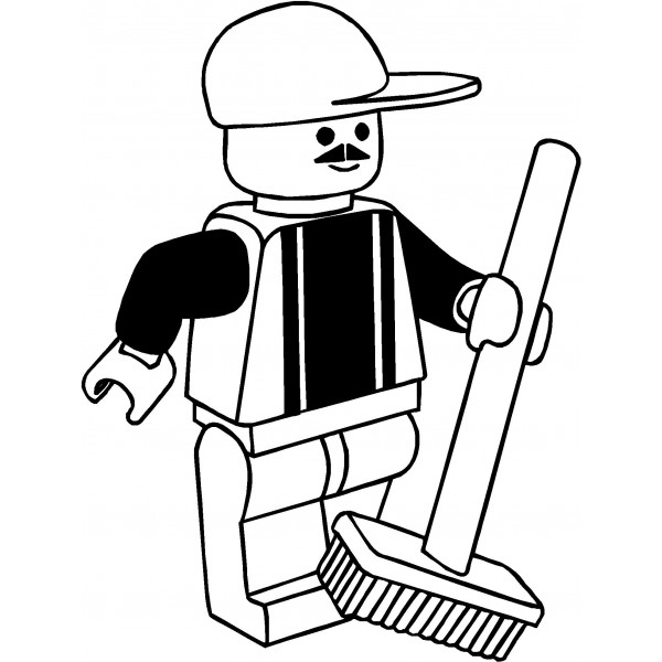 Lego character clipart black and white image free download Lego clip art black and white - ClipartFox image free download