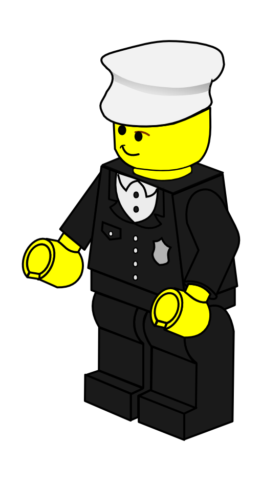 Lego cross clipart picture Lego Town Policeman Clipart | i2Clipart - Royalty Free Public Domain ... picture
