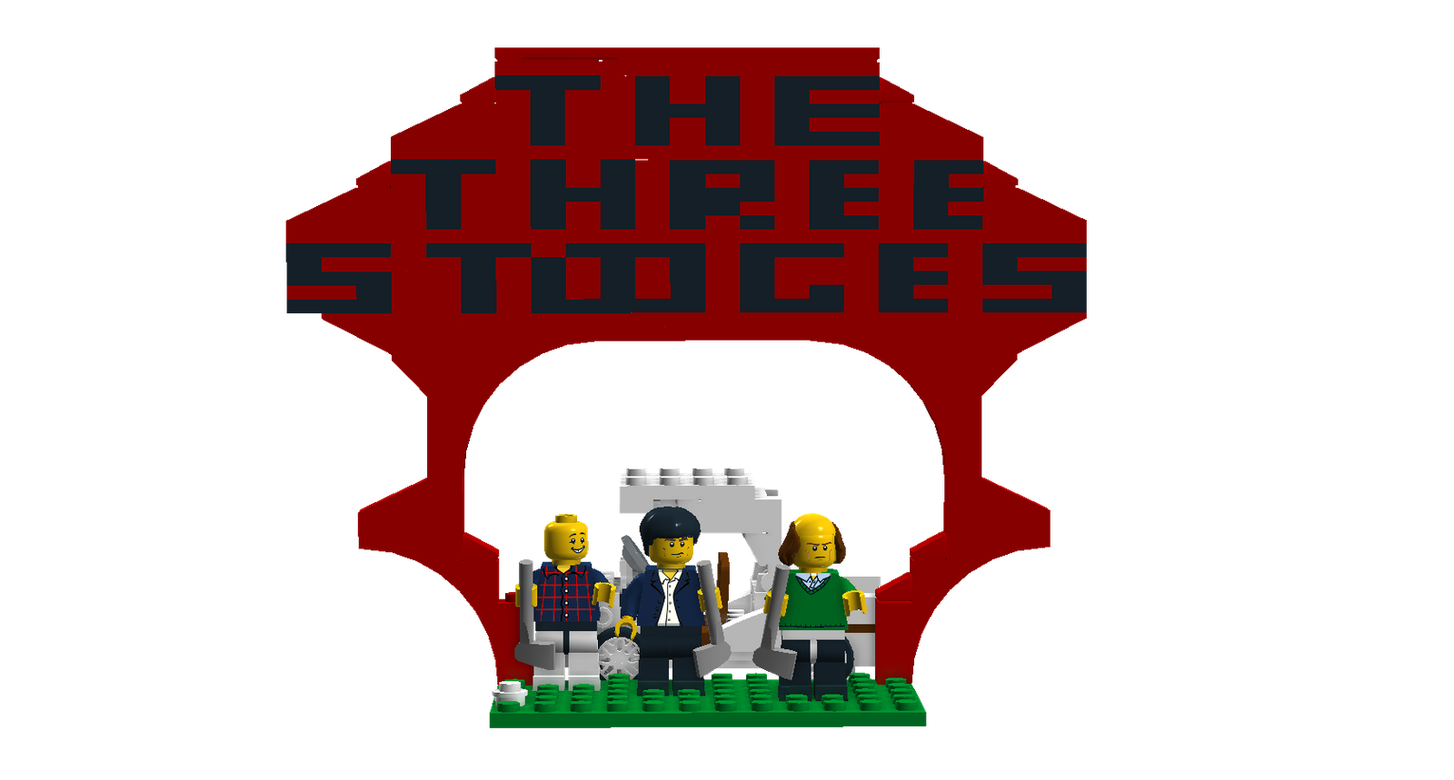Lego cross clipart png royalty free library LEGO Ideas - Product Ideas - The Three Stooges png royalty free library