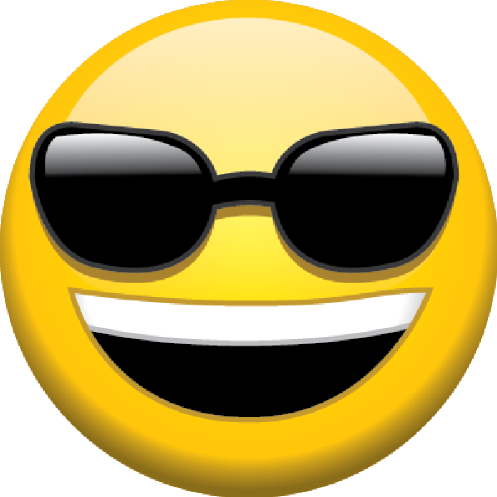Lego face with sun glasses clipart svg free stock Download Sunglasses Emoji Transparent Background HQ PNG Image ... svg free stock