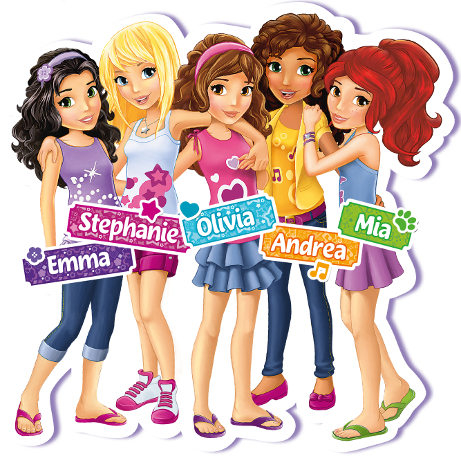 Lego friends logo clipart picture freeuse download Pin by Crafty Annabelle on Lego Friends Printables in 2019 | Lego ... picture freeuse download