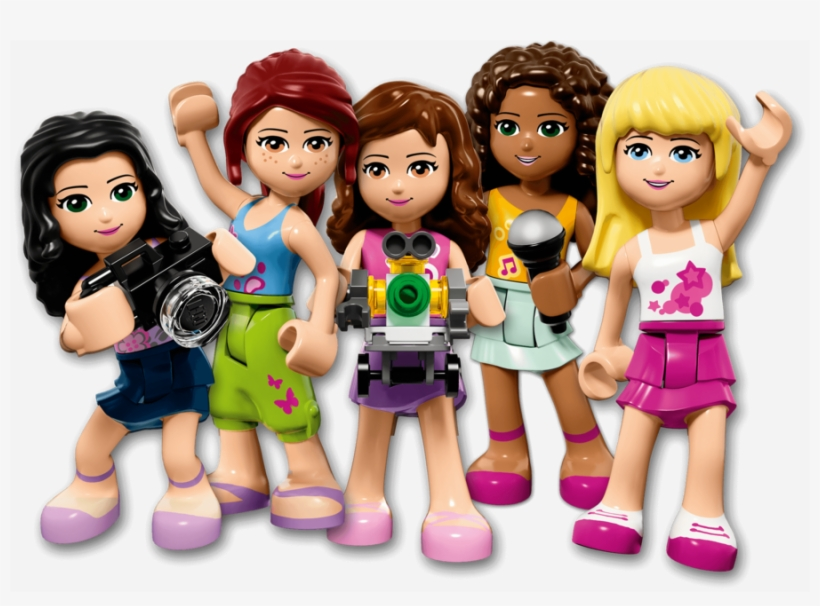 Lego friends logo clipart clipart black and white stock Download Free png Download Lego Friends Png Clipart Lego Friends ... clipart black and white stock