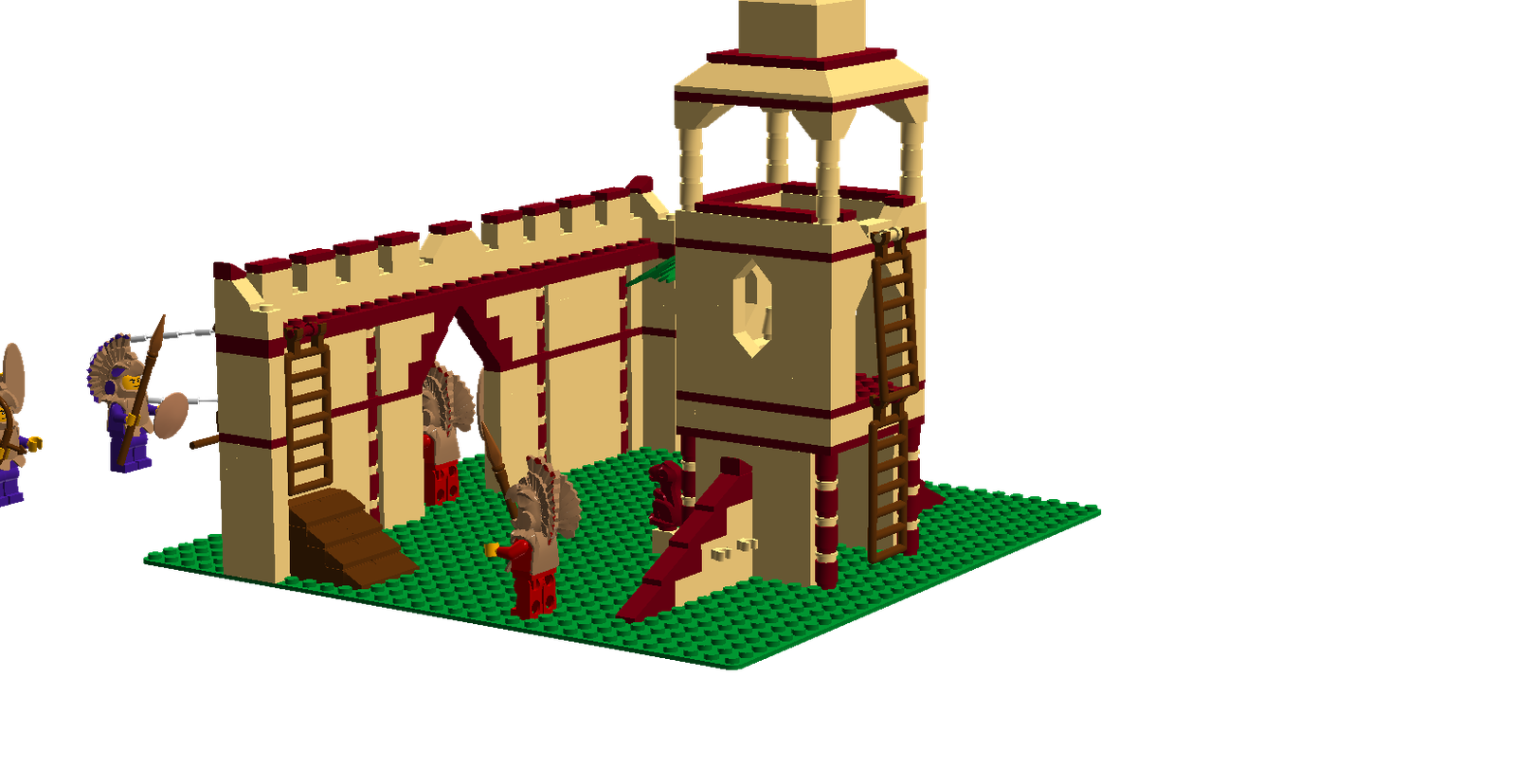 Lego house clipart picture library library LEGO Ideas - Product Ideas - Clash of civilisations: Toltec attack! picture library library