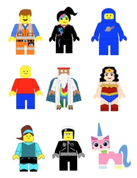 Lego man movie character clipart clipart black and white Lego Movie Clipart - Clipart Kid clipart black and white