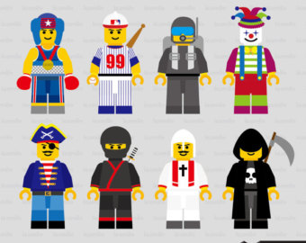Lego man movie character clipart black and white library Lego Student Character Clipart - Clipart Kid black and white library