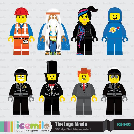 Lego movie clipart free
