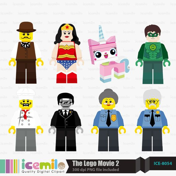 Lego movie clipart free image freeuse download The+Lego+Movie+2+Digital+Clipart+by+IcemiloClipart+on+Etsy ... image freeuse download