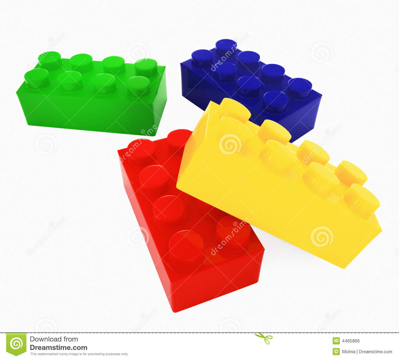 Lego pieces clipart picture freeuse download Color Lego Blocks Royalty Free Stock Image - Image: 4465866 picture freeuse download