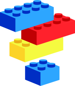 Lego pieces clipart vector royalty free library Lego Brick Clipart - Clipart Kid vector royalty free library