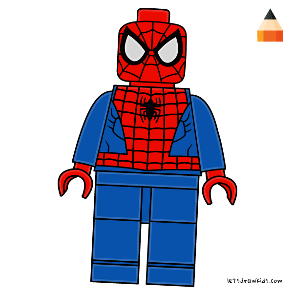 Lego spiderman clipart clipart royalty free download How To Draw How To Draw LEGO Spiderman - Art Drawing for ... clipart royalty free download