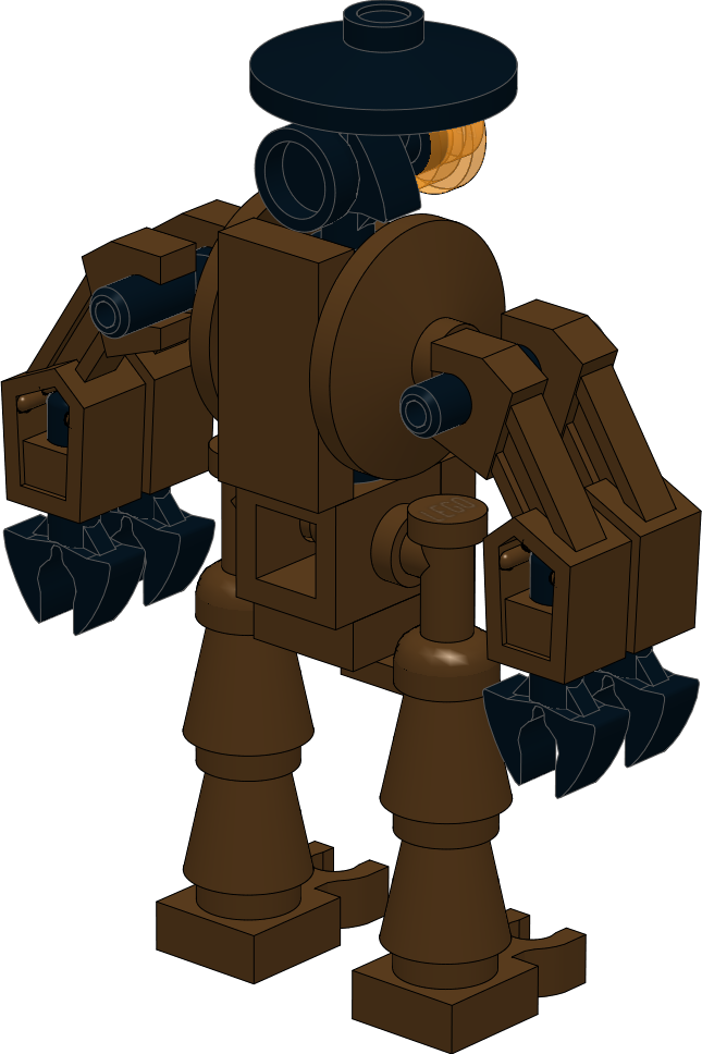Lego star wars clipart picture free download Lego Star Wars MOC: Steampunk Droid by Kantorock on DeviantArt picture free download