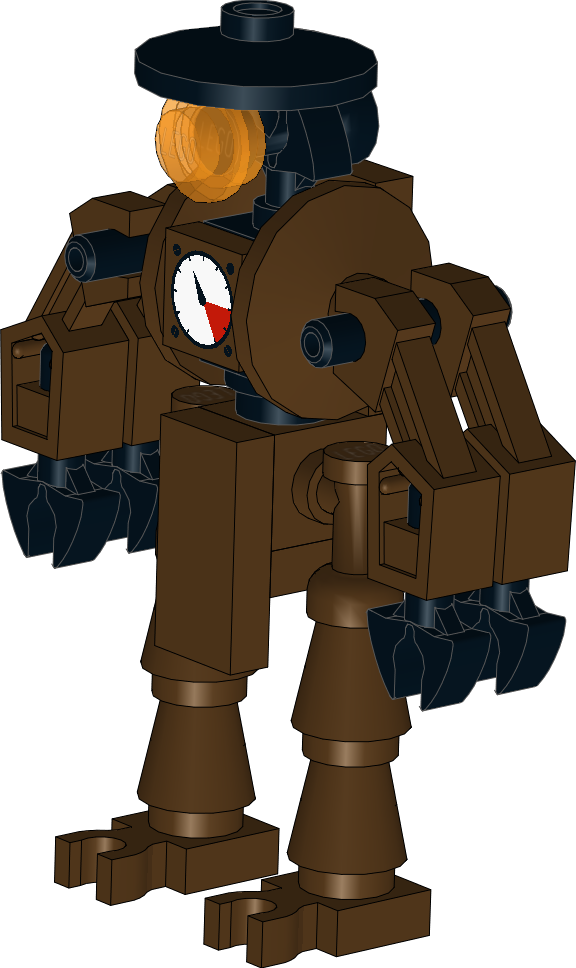 Lego star wars clipart transparent download Lego Star Wars MOC: Steampunk Droid by Kantorock on DeviantArt transparent download