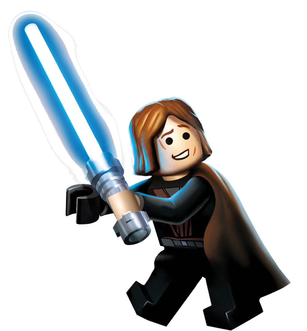 Star wars clipart luke skywalker picture black and white stock Anakin Skywalker (Lego Star Wars) | VS Battles Wiki | FANDOM powered ... picture black and white stock