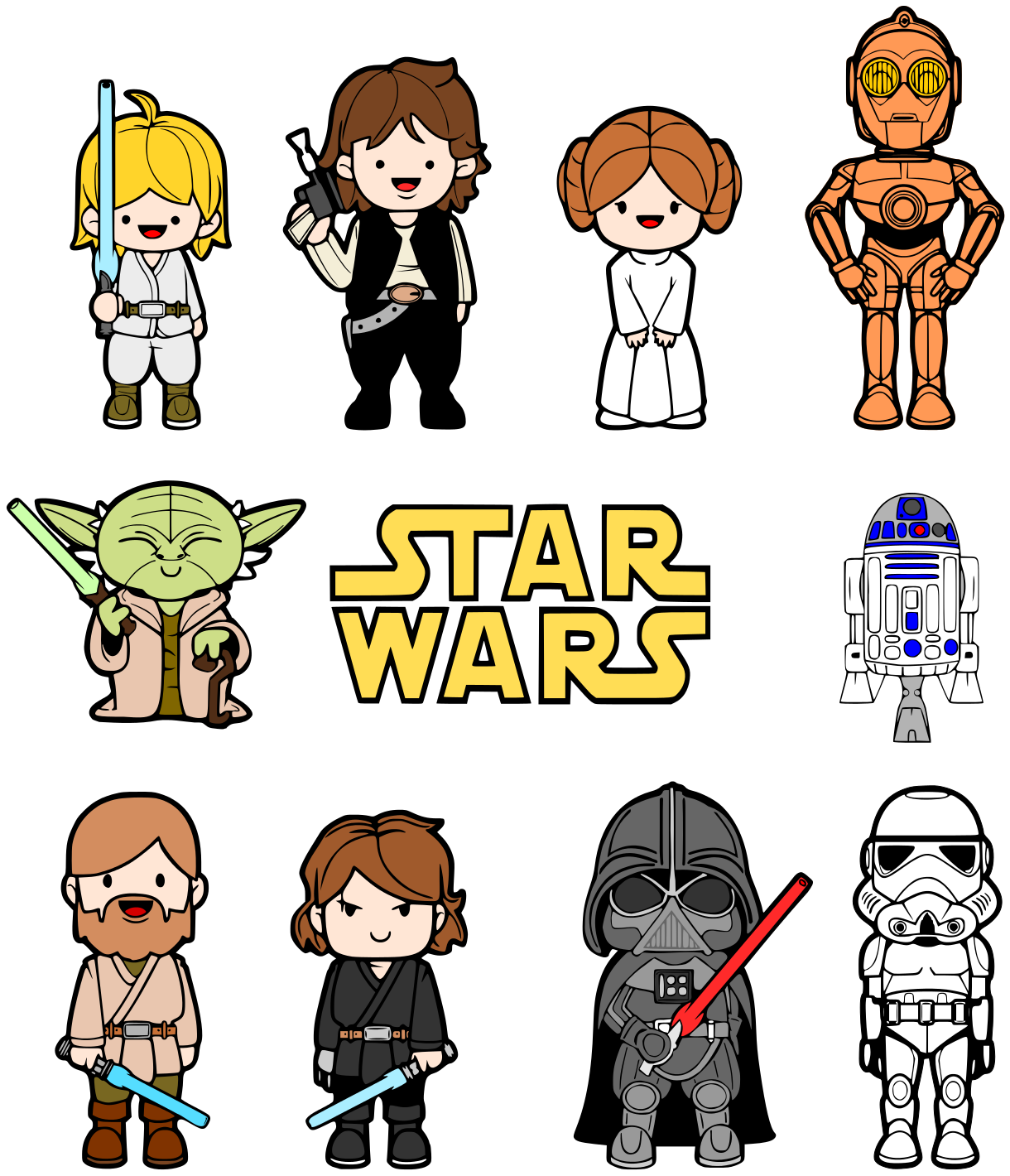 Lego star wars clipart caricatures clipart stock Star Wars Clipart Free | Free download best Star Wars ... clipart stock