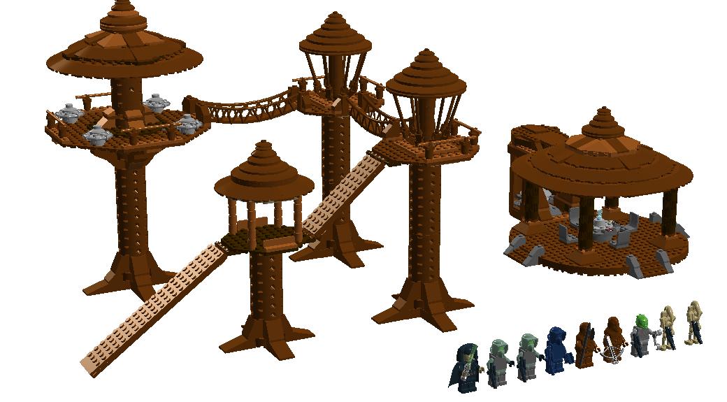 Lego star wars logo clipart royalty free stock LEGO Ideas - Product Ideas - The Battle of Kashyyyk - Wookiee Tree ... royalty free stock