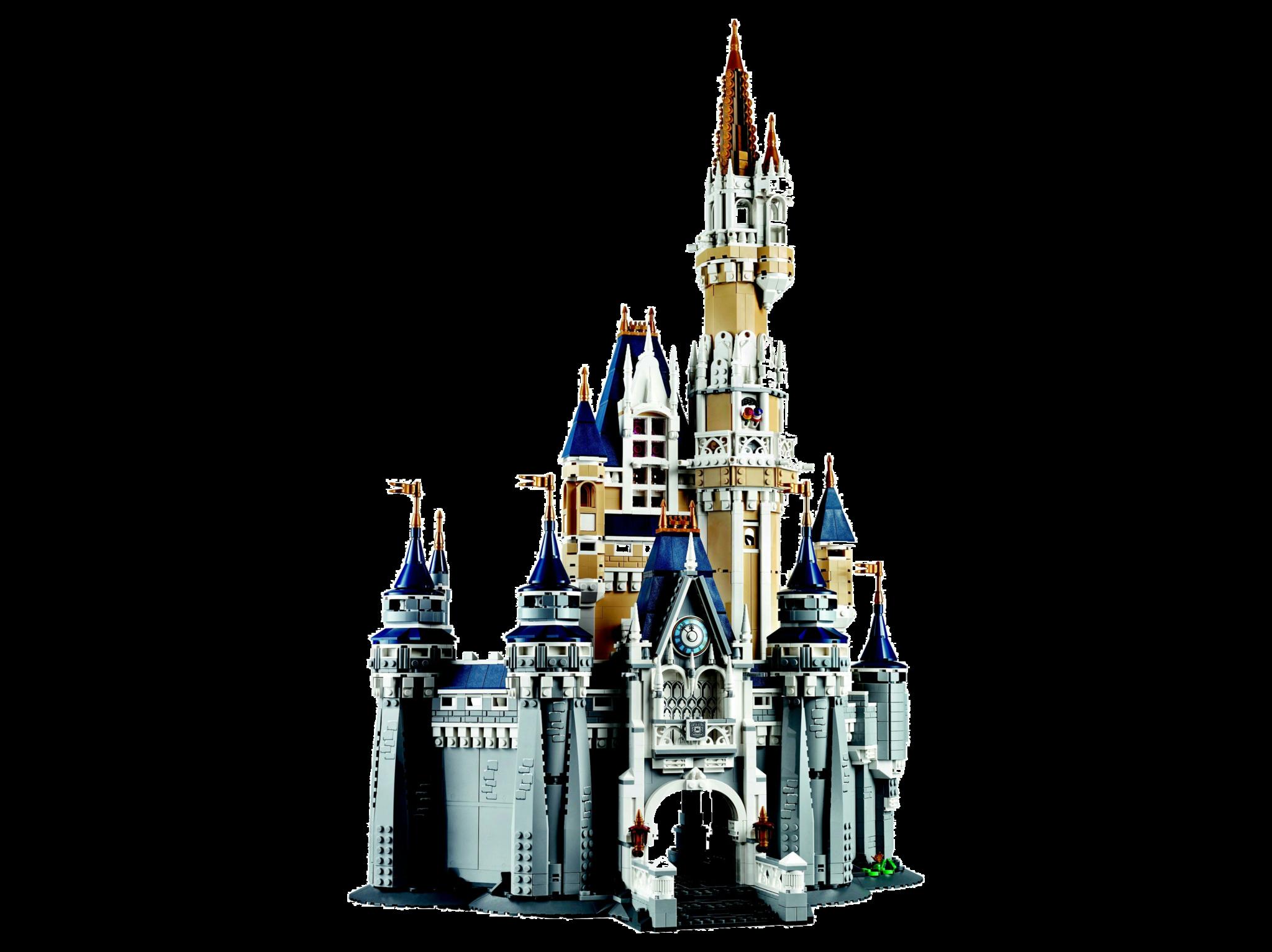 Lego store clipart image black and white stock Magic Kingdom Disneyland Paris Cinderella Castle The LEGO ... image black and white stock