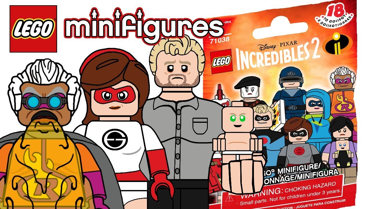 Lego the incredibles clipart png free stock LEGO Incredibles 2 Minifigures (Custom Series) - My Thoughts! png free stock