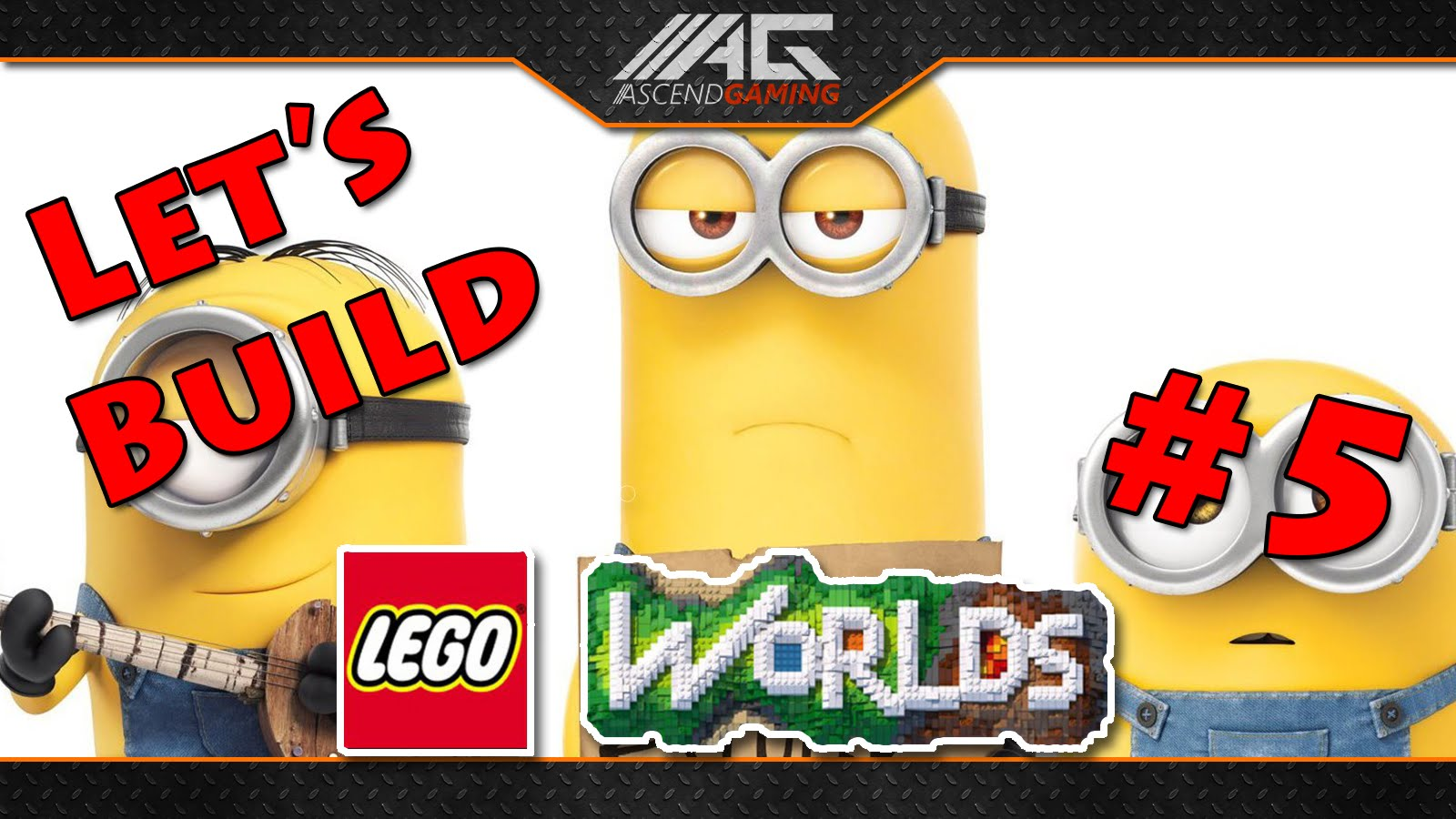 Lego worlds logo clipart picture freeuse download AG | Let`s Build Lego Worlds #5 - Minion mit Badehose?! - YouTube picture freeuse download