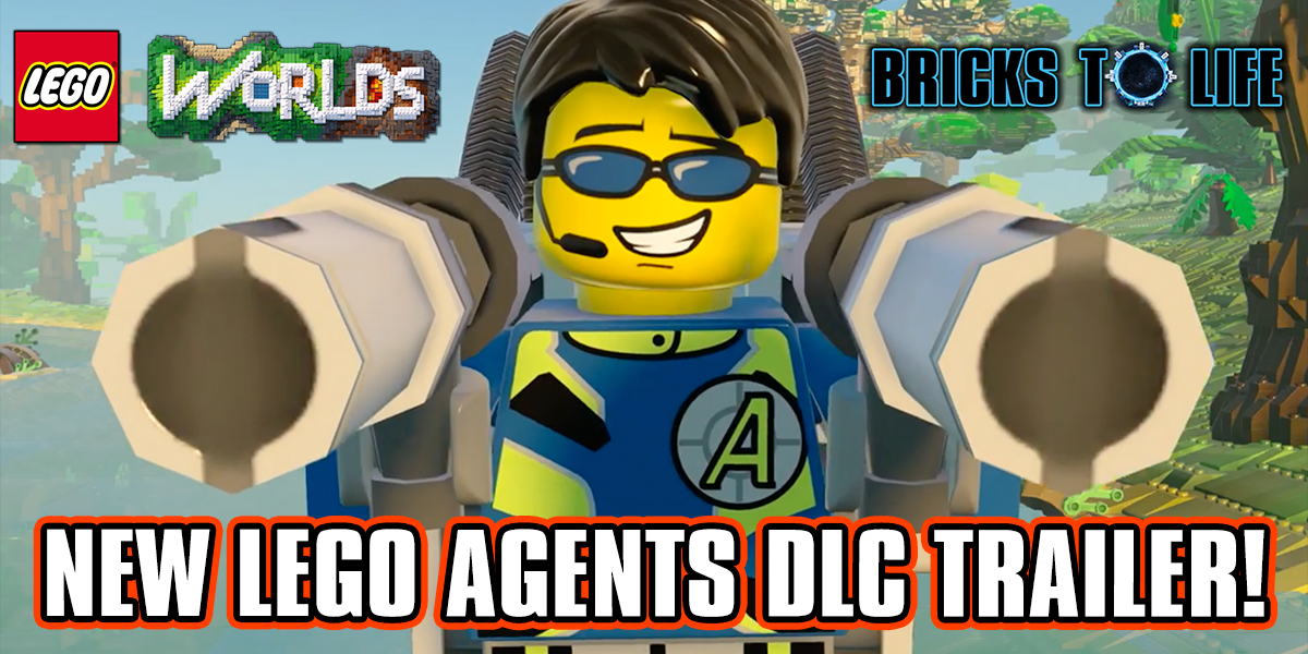 Lego worlds logo clipart picture transparent LEGO Agents DLC Trailer For LEGO Worlds - PS4 Exclusive - Bricks ... picture transparent