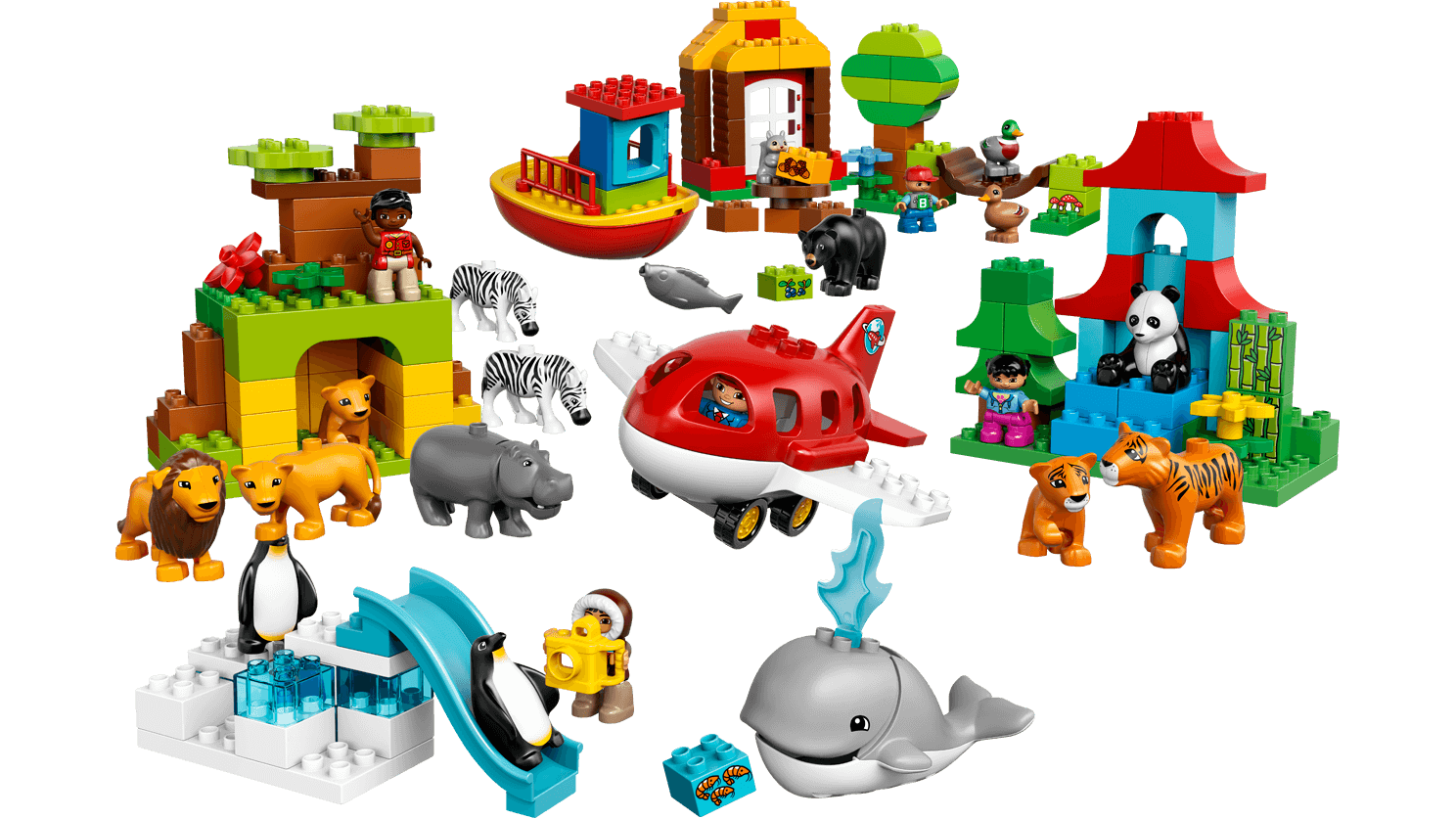 Lego worlds logo clipart graphic 10805 Around the World - Products - DUPLO LEGO.com graphic