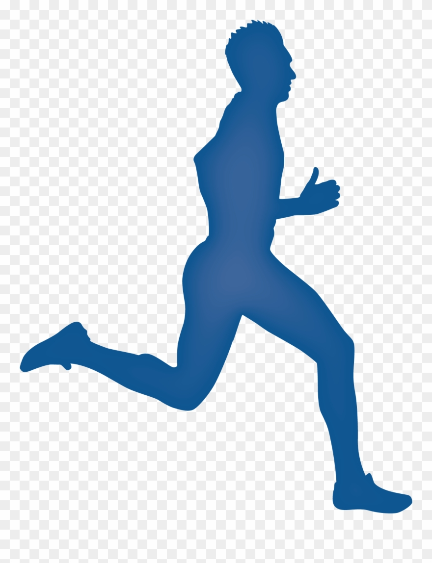 Legs running clipart png royalty free Legs Clipart Running Man - Runner Silhouette - Png Download ... png royalty free