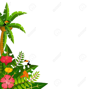 Lei border clipart clipart transparent library Hawaiian Lei Clipart Border | Free Images at Clker.com - vector clip ... clipart transparent library